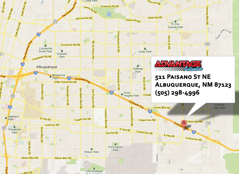 AdvantageAuto-map
